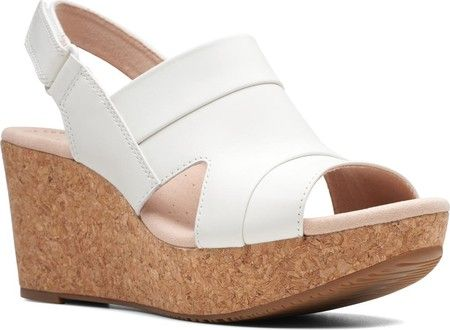 f35e106e0e Women's Clarks Annadel Ivory Wedge Sandal with FREE Shipping & Exchanges.  Create a sophisticated vibe with the Clarks Annadel Ivory Wedge Sandal.