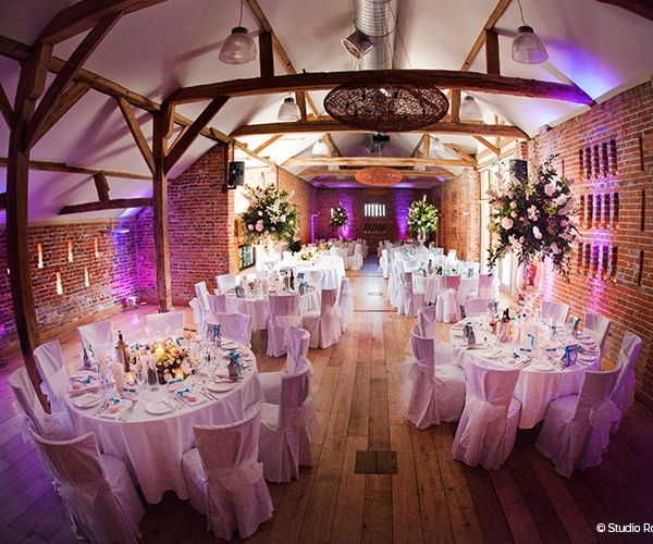 Barn Wedding Reception Venue In Berkshire Wasing Park