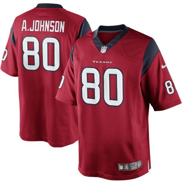 Nike Andre Johnson Houston Texans The Limited Jersey - Red