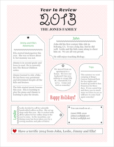 holiday letters templates