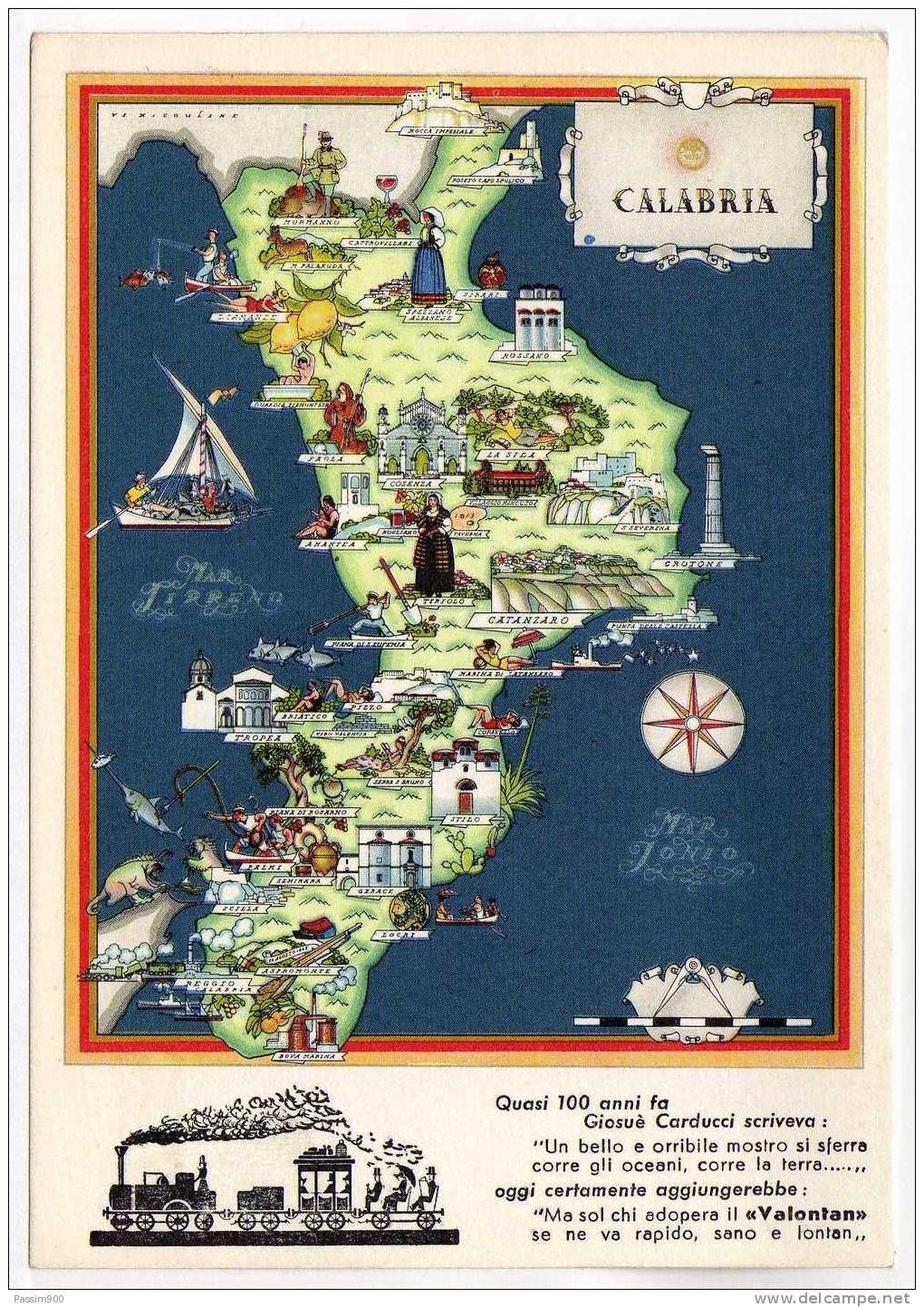 Nicouline Map of Calabria Interesting Maps of Italy Pinterest