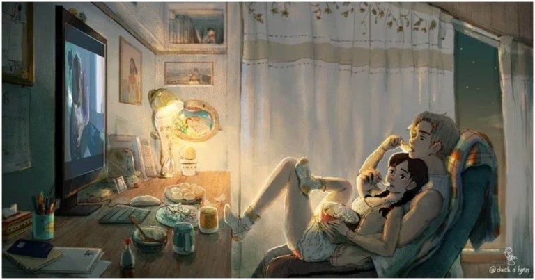 10+ Illustrations Prove That Love Is In Little Things