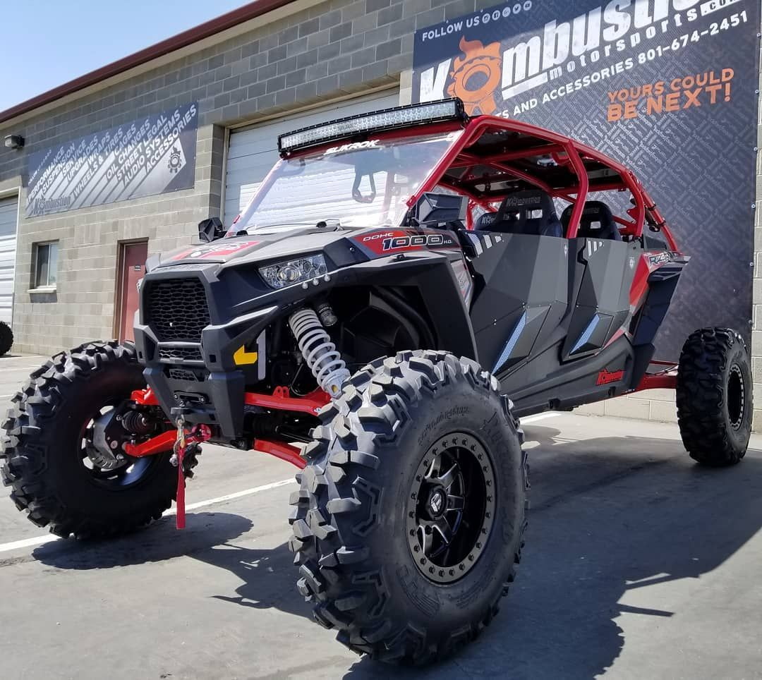 Kombustionutvbeast Mode Set This Rzr Up With Superatv Com Portals And Boxed A Arm Along With Some 34 Stioffroad Roktanes Mounted On Rzr Atv Go Kart Buggy