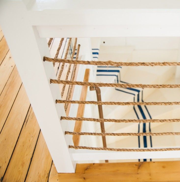 Best Remodeling 101 Nautical Stripes On The Stairs Coastal 400 x 300