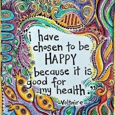 Choosing happy and healthy