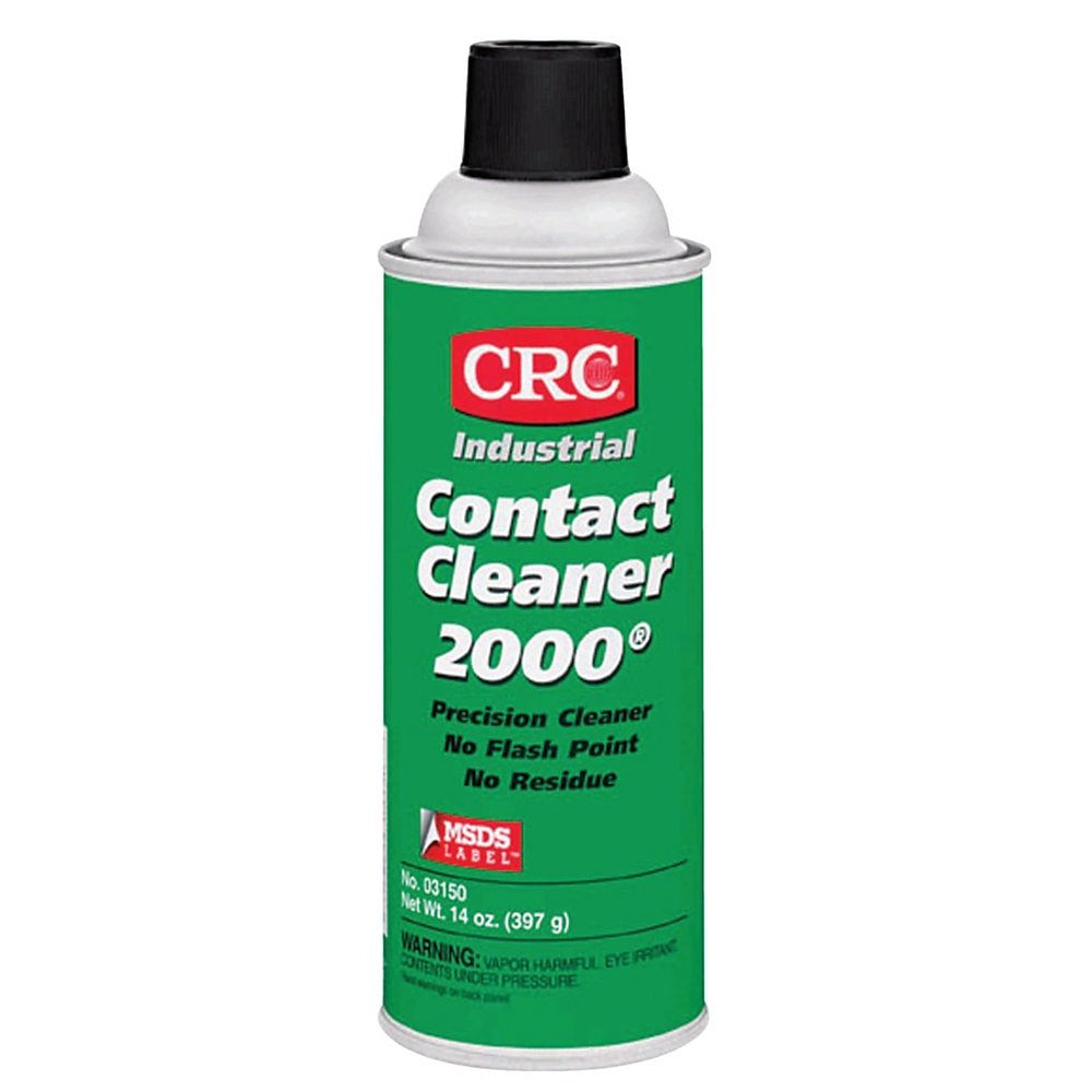 Crc Contact Cleaner 2000 Precision Cleaner Tapered Cap 13 Oz Pack Of 12 Cans Grease Lubricant Cleaning Chemicals Grease