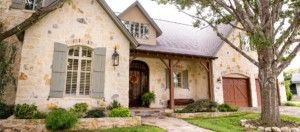 Texas Country French Custom Home Designers & Residential Architects