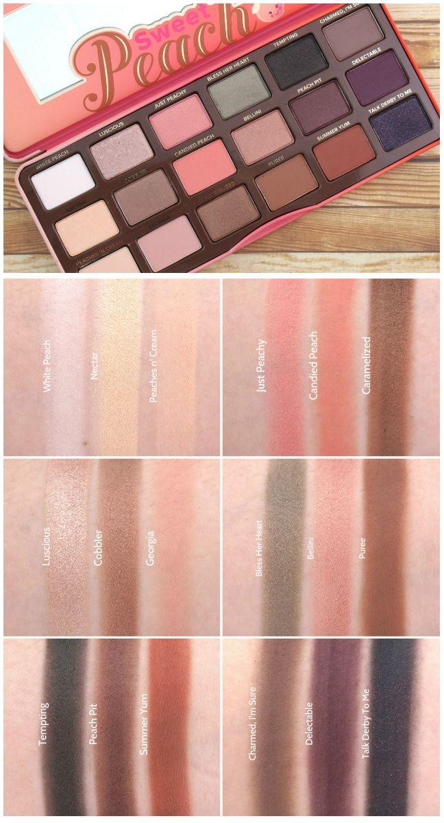 sweet peach palette # 41
