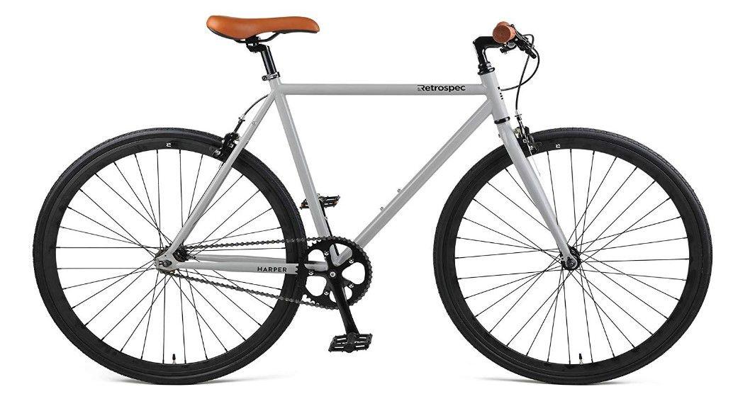 Retrospec Harper Fixed Gear Urban Commuter Bike Best City Bikes