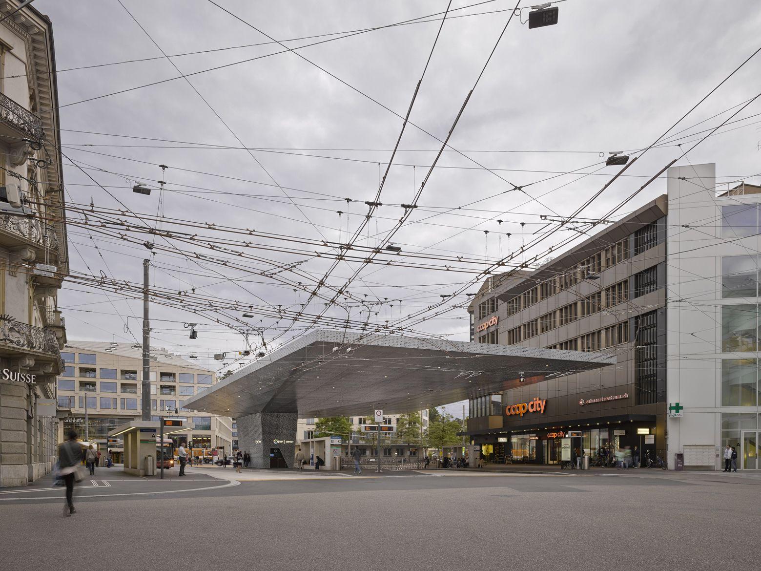 Plaza de la Estación de Winterthur / Stutz Bolt Partner (Winterthur, Suiza) #architecture