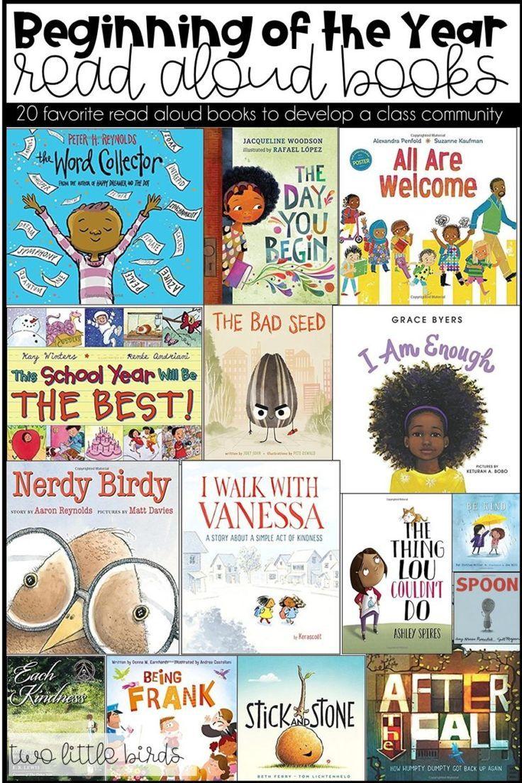 20 favorite back to school read aloud books two little
