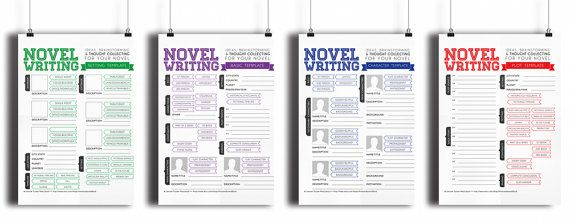 Novel Writing Templates For NaNoWriMo!  Free Book Writing Templates For Word