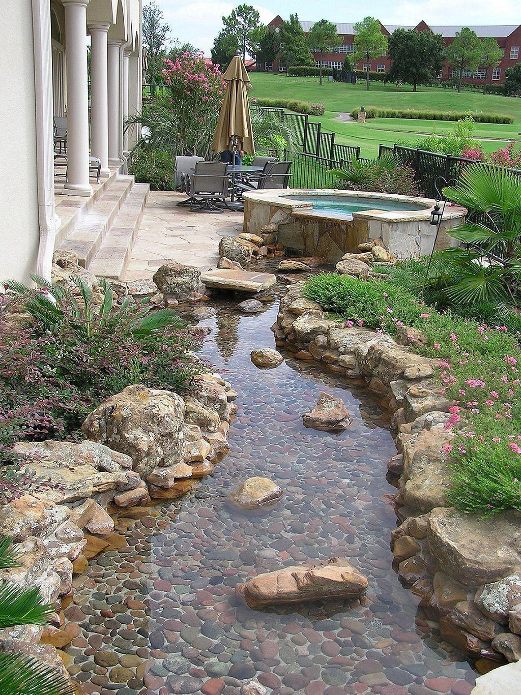 Amazing Modern Rock Garden Ideas For Backyard (77) | Rock ...