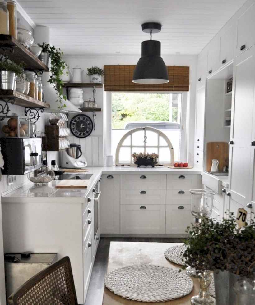 Shabby Chic Kitchen Design Ideas: 56 Chic Kitchen Ideas For Small Apartment