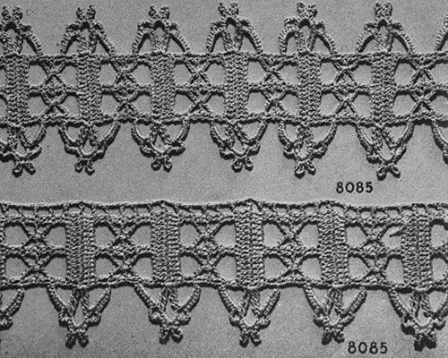 For The Home Edging 8085 Pattern Free Pattern Pinterest