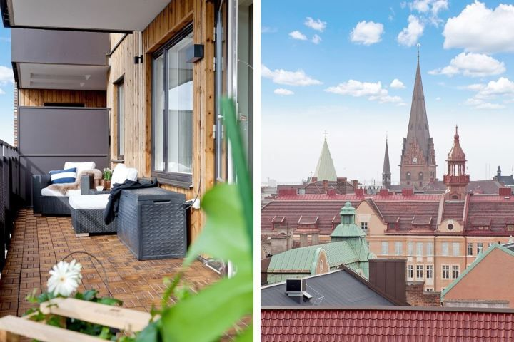 Terraza revestida en madera Scandinavian, Exterior and Interiors - terrazas en madera