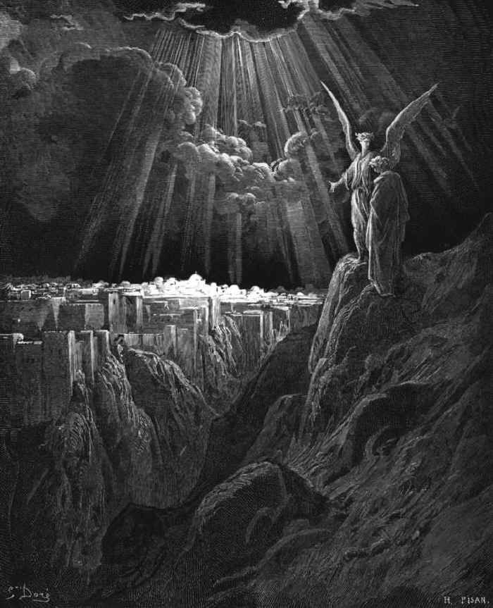 Then I, John, saw the holy city, New Jerusalem, coming down out of ...