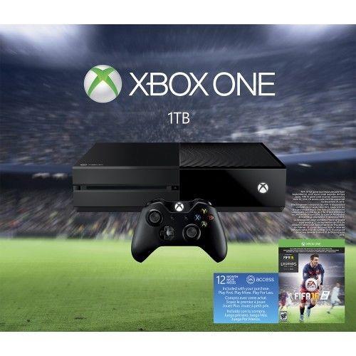 -\*BRAND NEW*/- Microsoft - Xbox One 1TB EA Sports FIFA 16 Bundle - Black #Microsoft