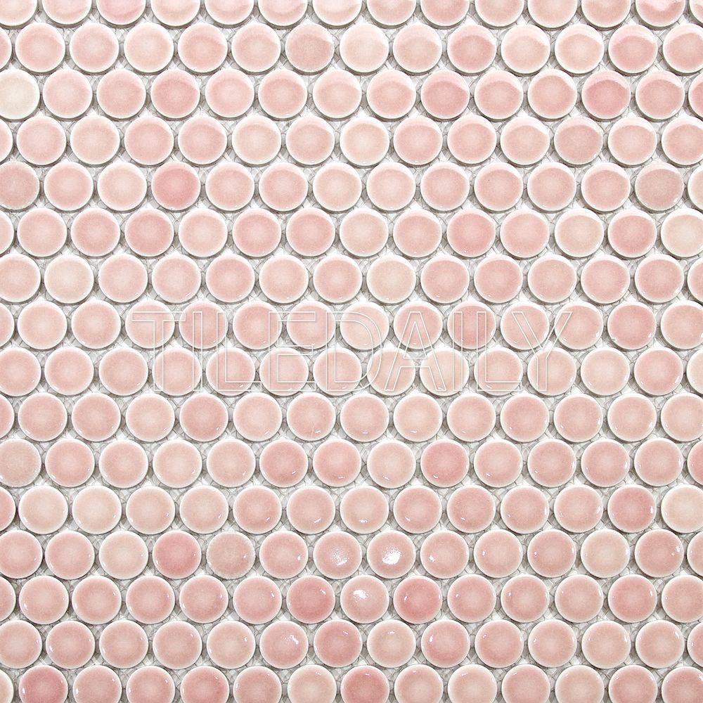 penny round mosaic penny tile