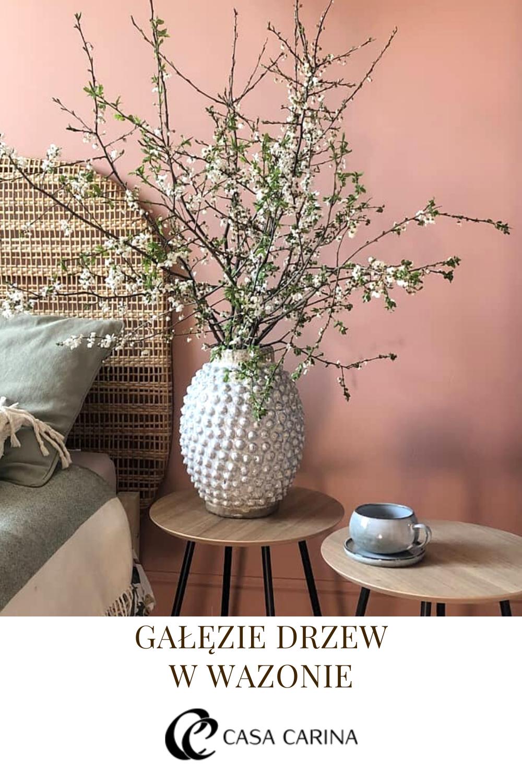 Galezie Drzew W Salonie Home Decor Decor Vase