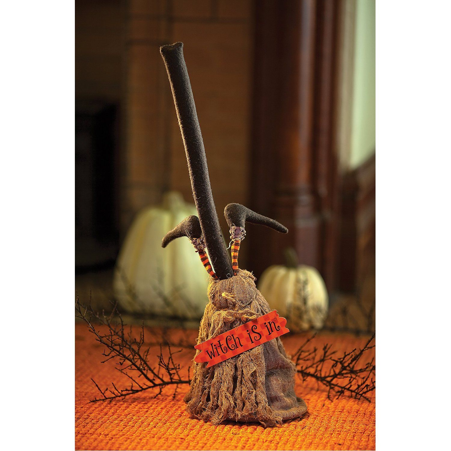 Dancing Halloween Broom Animated Prop Decor Pinterest - Witch Decorations For Halloween