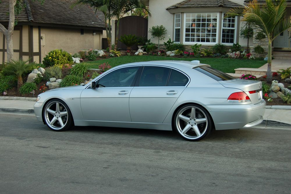 2003 BMW 745Li Hit 110 mph in one of these 2 days ago