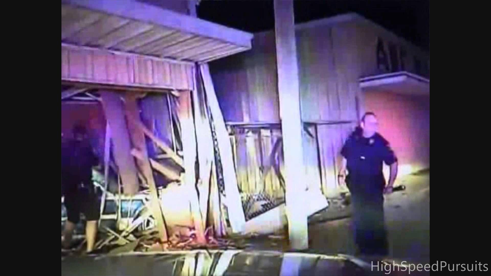 New Mexico High Speed Police Pursuit Fatal Crash (Dashcam