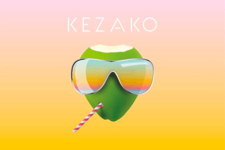 Agence Let's Be ! Creative Planning Agency Conception de l'identité visuelle - Brief DA  #Kezako - Nouvel #Artiste #Electro #House #Musique #Logo