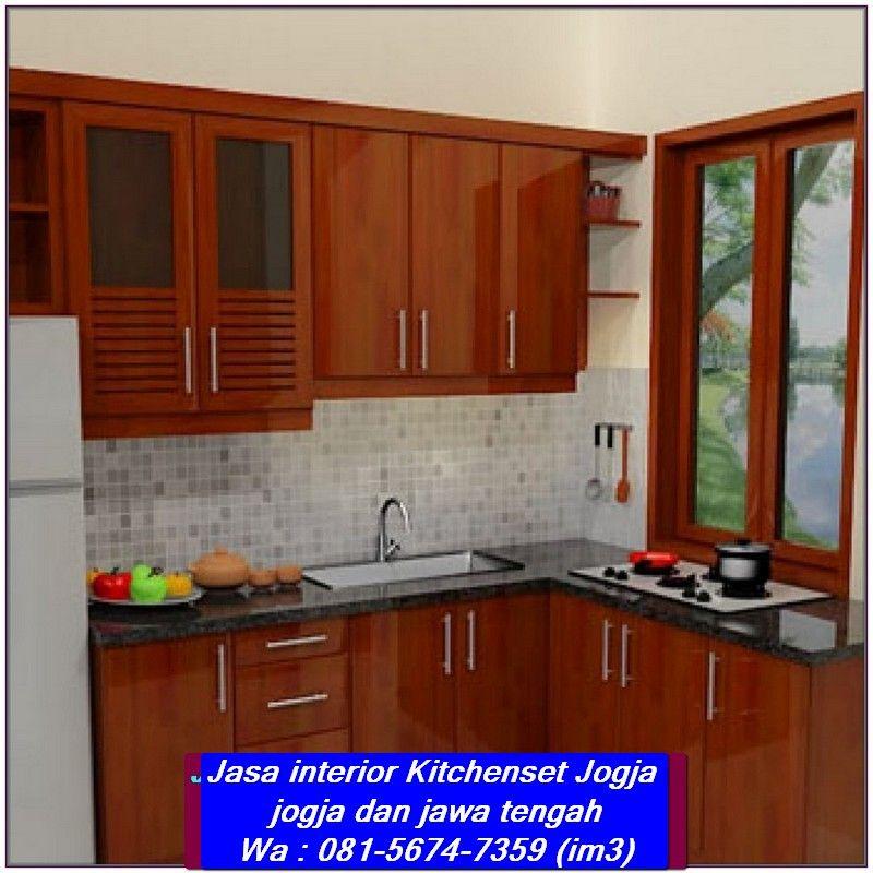 Pin By Interior Jogja On 081 5674 7359 Im3 Jasa Kitchenset