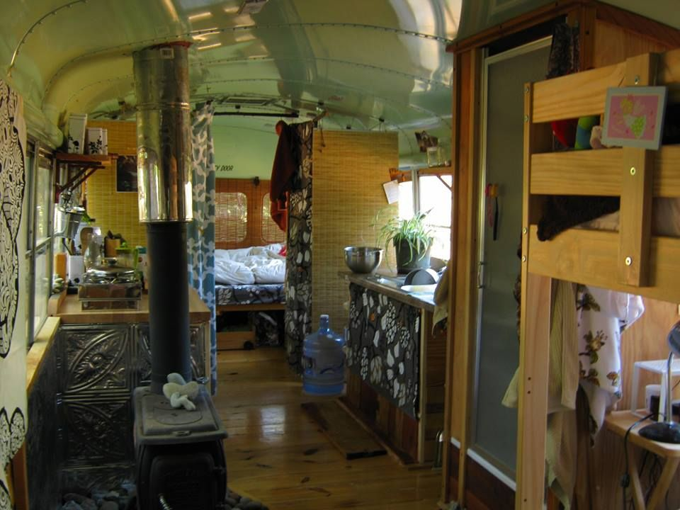Attached Are Some Photos Of Our Tiny Home Conversion We Repurposed A 1986 International Schoolbus