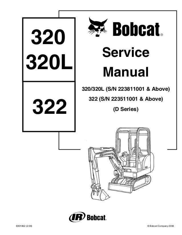 click on the image to download Bobcat 320 320L 322 D