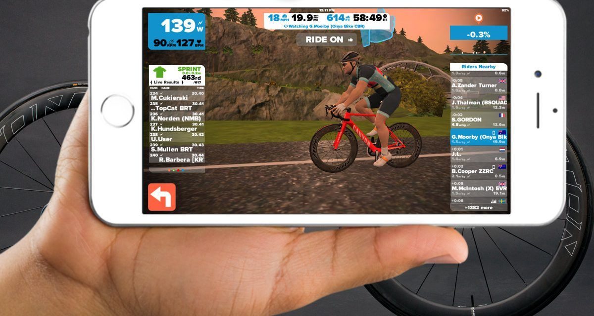 How To Ride Any Zwift Course At Any Time On Ios Riding Time Ios
