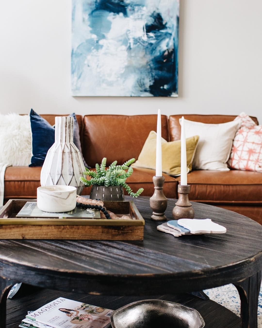Blissful_design_studio created such a cozy and eclectic