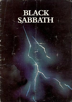 Black Sabbath 1975 Sabotage tour poster