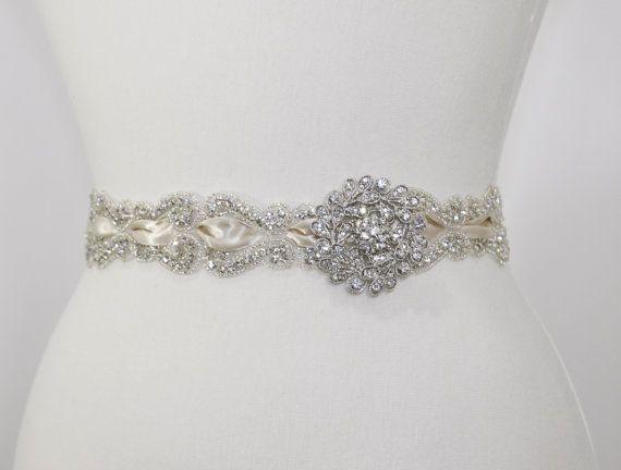 Vintage Wedding Dress Belts