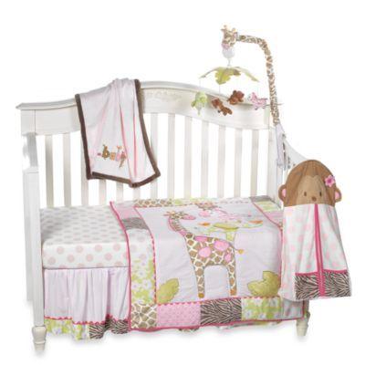 Carter S 174 Jungle Jill 4 Piece Crib Bedding And Accessories