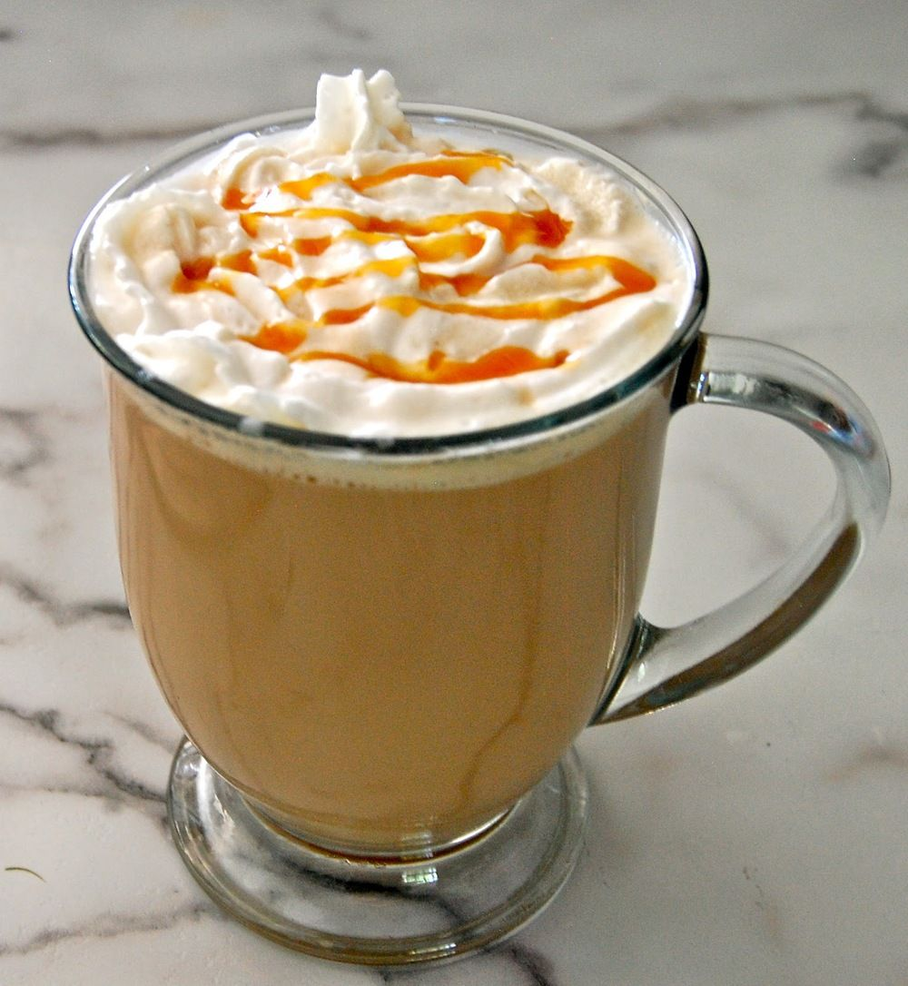 Warm And Delicious Caramel Protein Latte