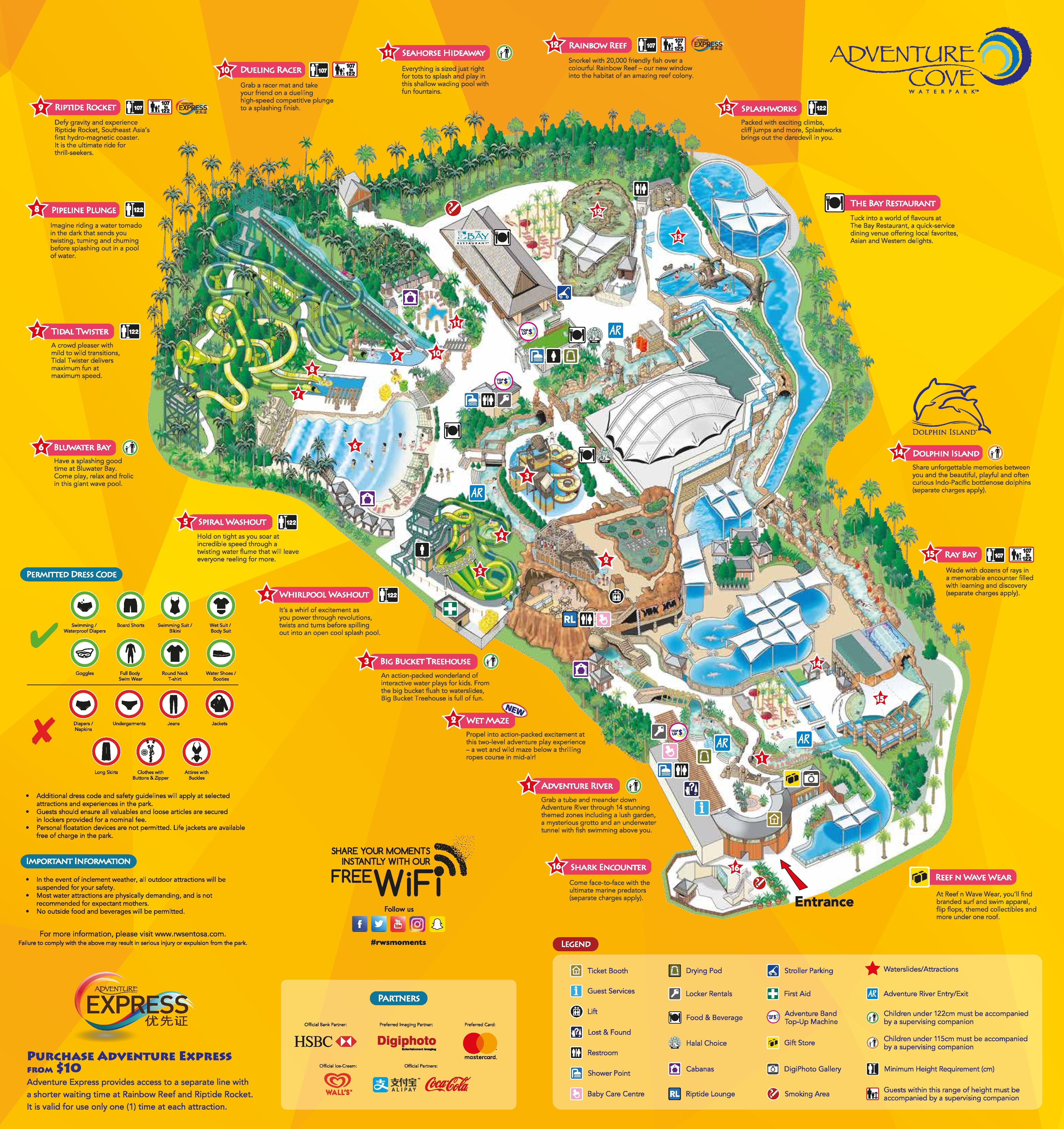 Maximise Your Visit To Adventure Cove Waterpark Singapore In 2021 Water Park Water Theme Park Theme Park Map