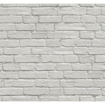 Rendered Grey White Brick Wallpaper 3d Brick Wallpaper White Brick Wallpaper White Brick