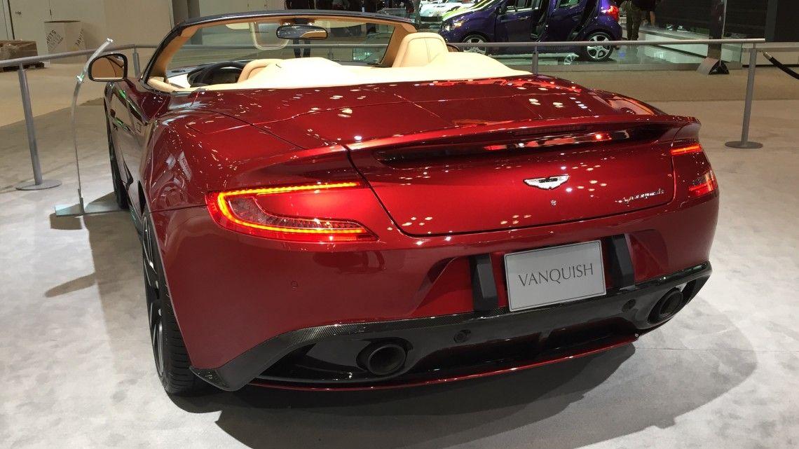 2015 Aston Martin V12 Vanquish Volante