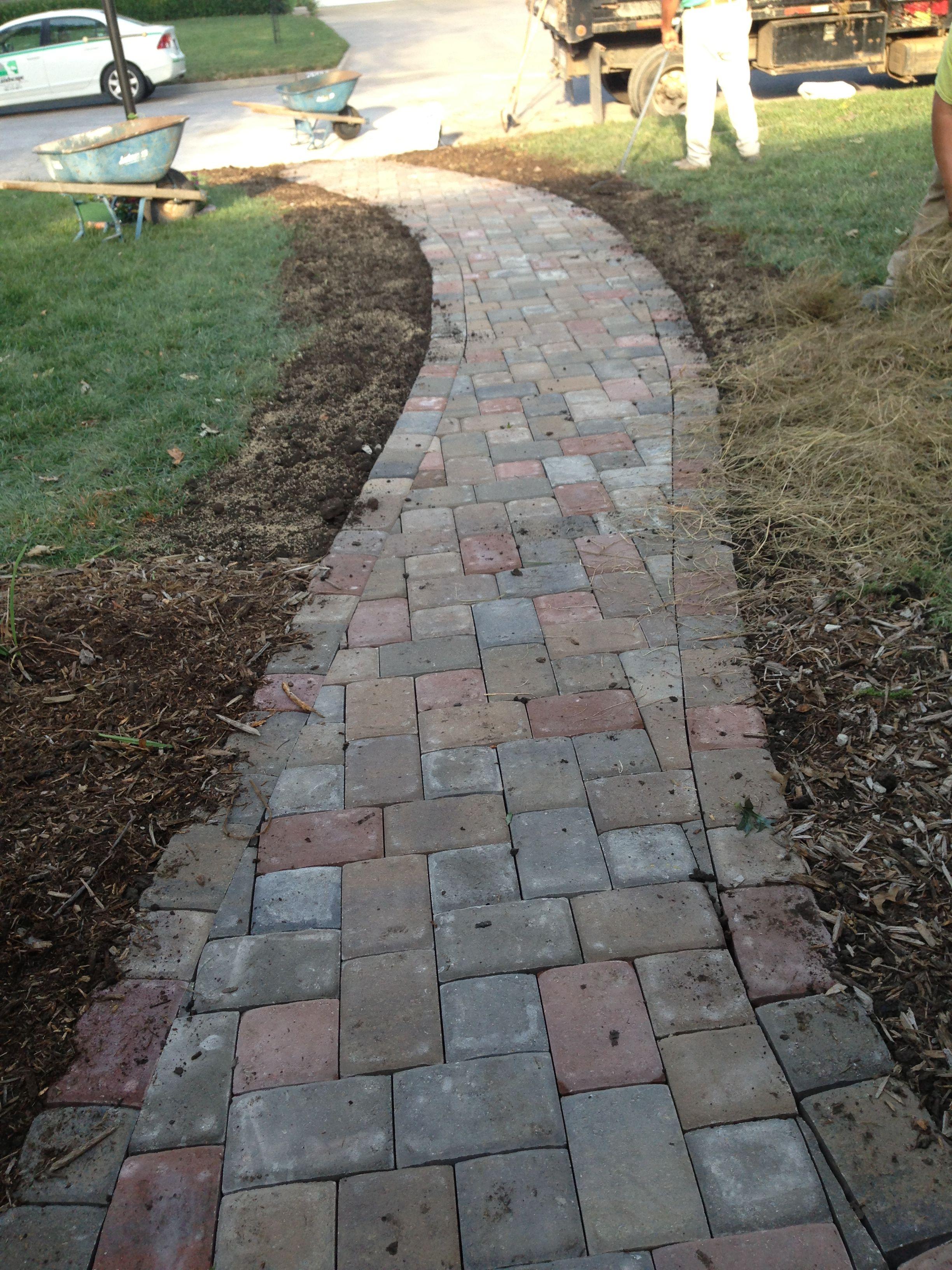 Homepage Walkways Amp Paths Paver Walkway Walkway Patio