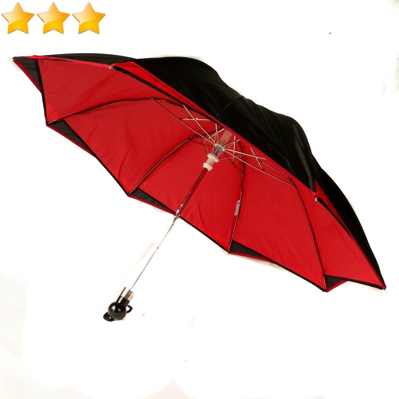Parapluie automatique Femme noir AUdGEfD2N