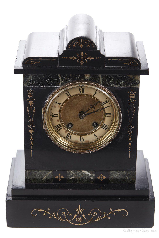 Victorian 8 Day Marble Mantel Clock En 2019 Clocks