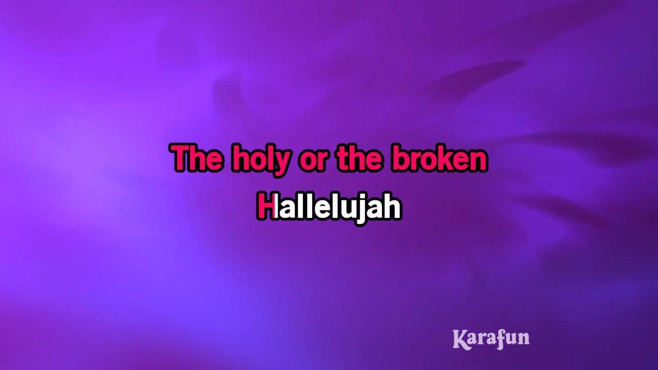 Karaoke Hallelujah Sing Karaoke Singing Hallelujah Sing Online