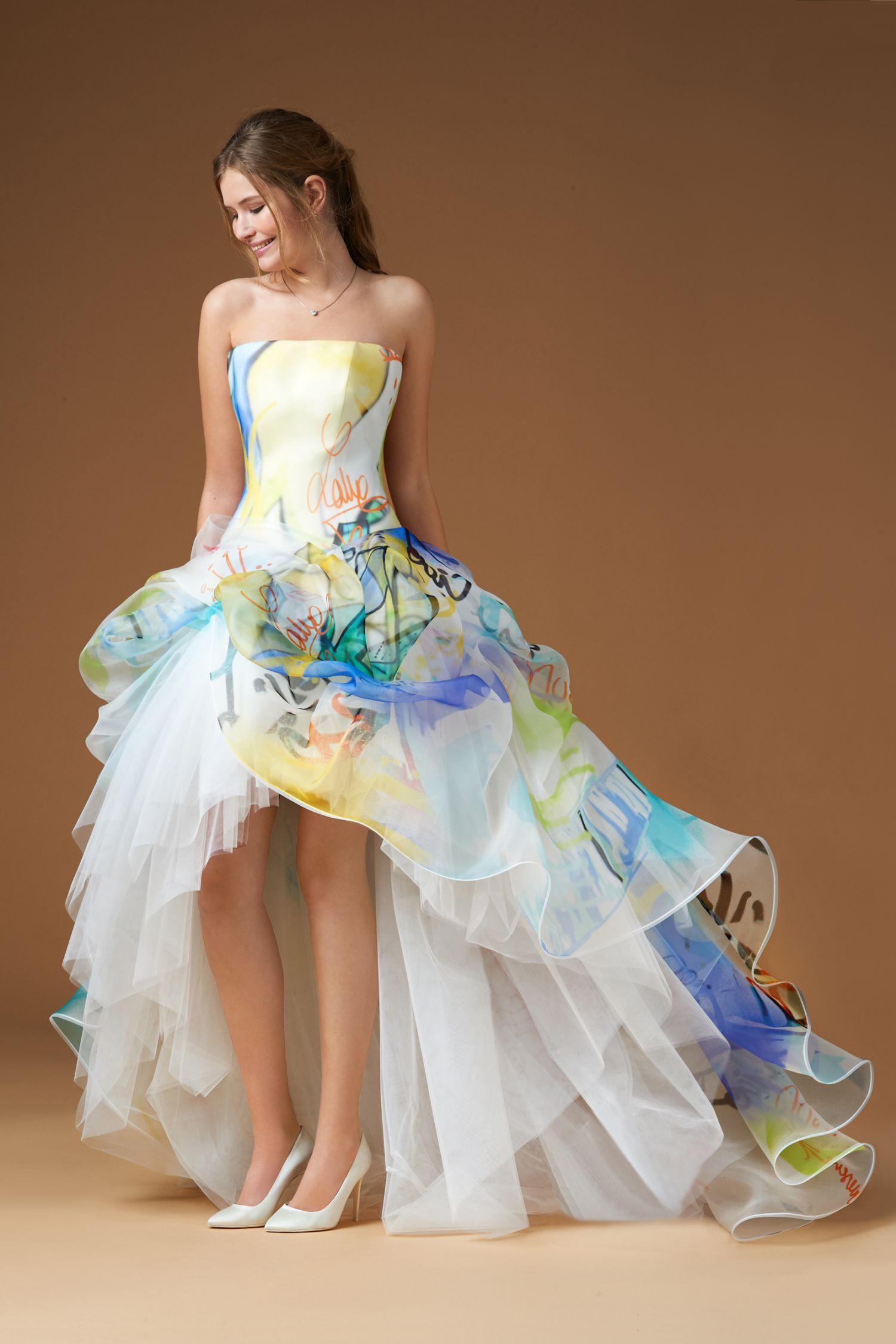 Abiti da sposa colorati atelier eme – Abiti alla moda c084032897b