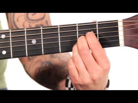 Learn Guitar How To Play An A Major Chord When I Get Around To It
