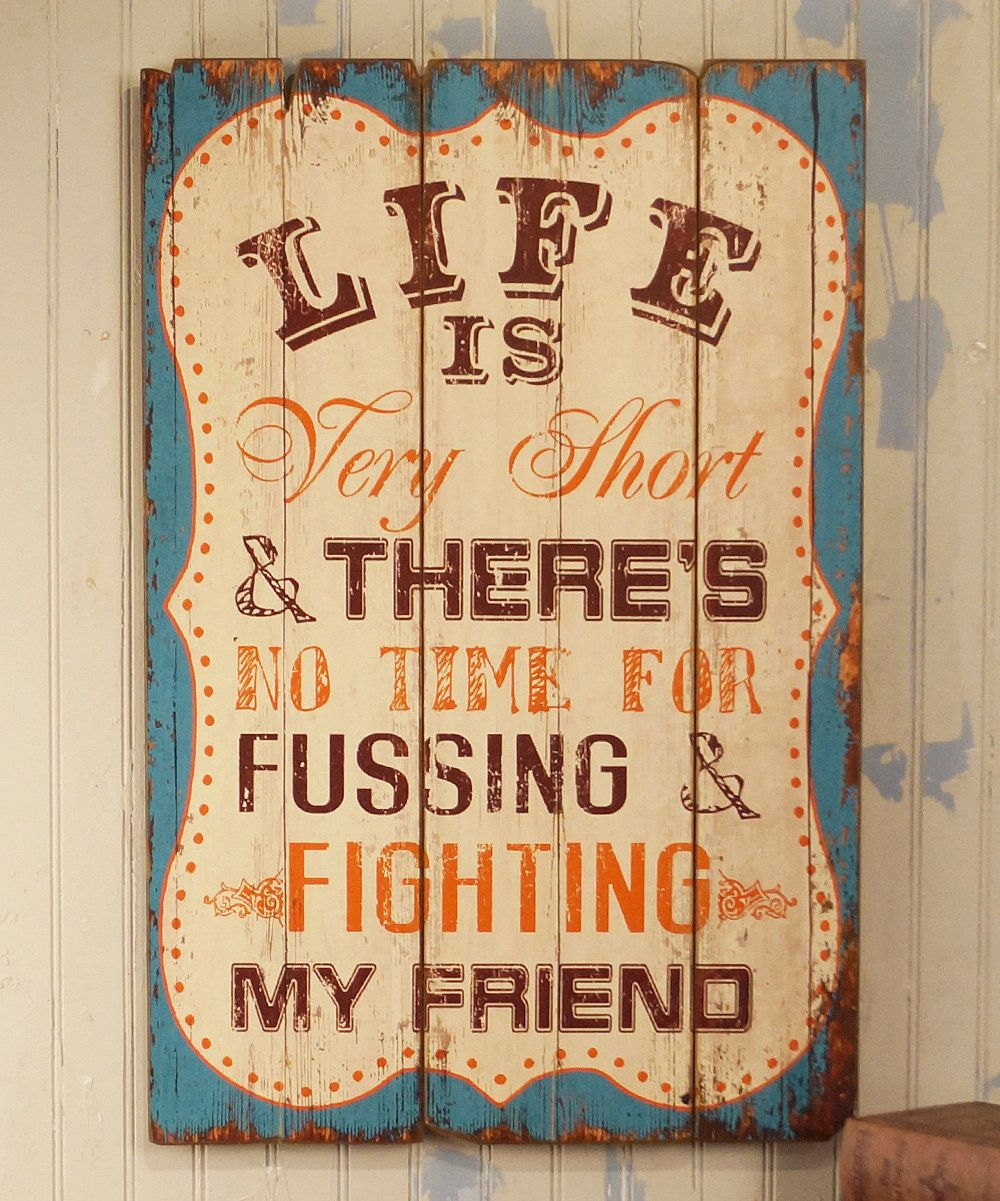Life Is Very Short\' Wall Art - Great verse from The Beatles ...