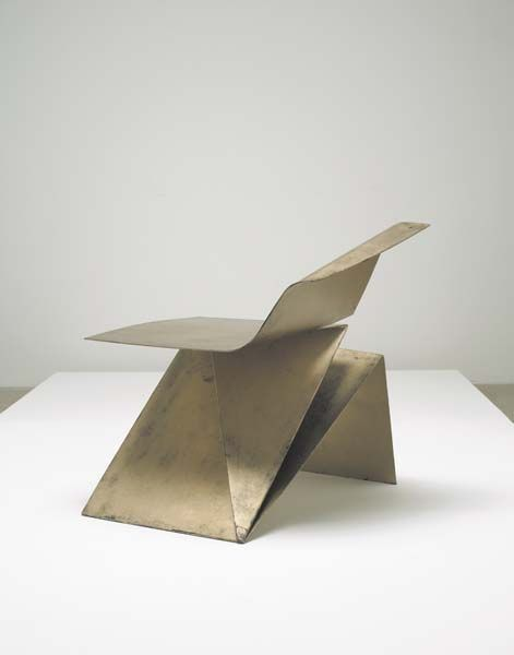 Origami Möbel origami chair philip michael wolfson furniture