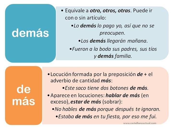 1236404 509239225827277 1439896506 N Jpg 720 540 Aprender Español Adverbios De Cantidad Gramática Española