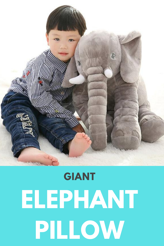 Giant Plush elephant pillow in 2020